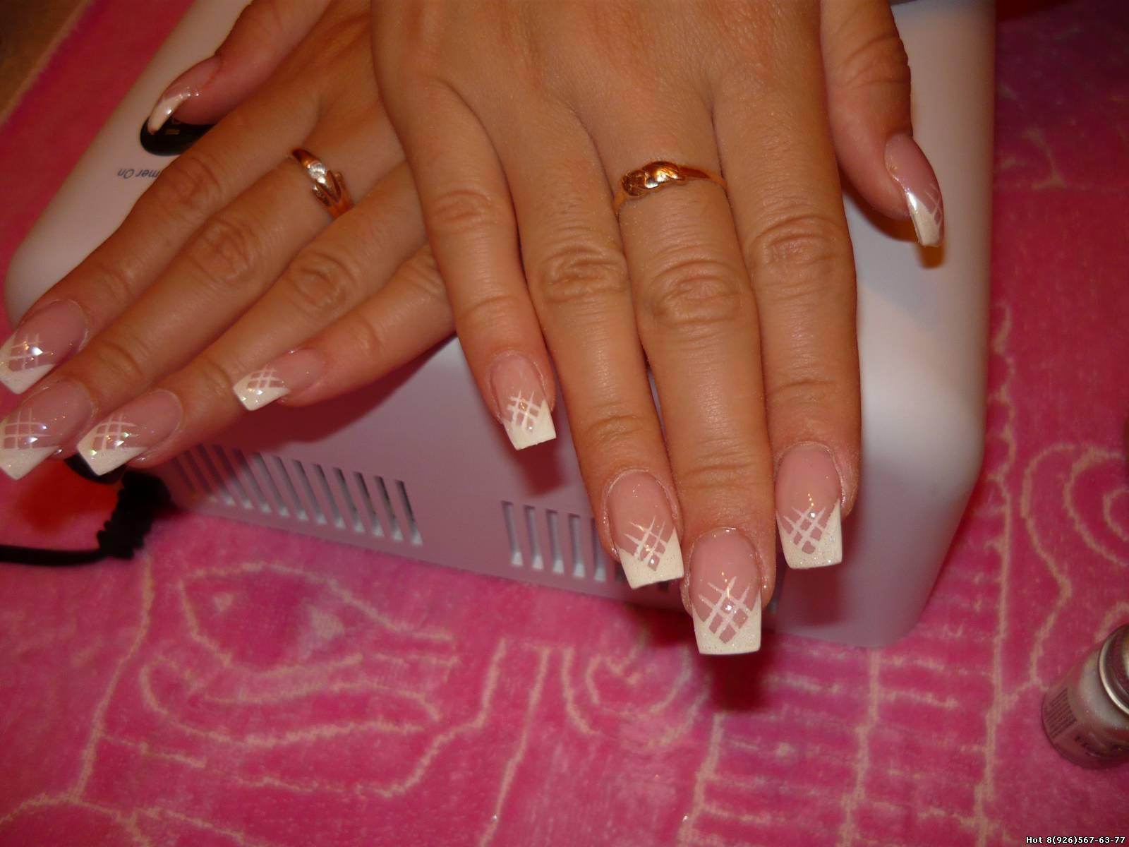 Смотреть гелевых ногтей